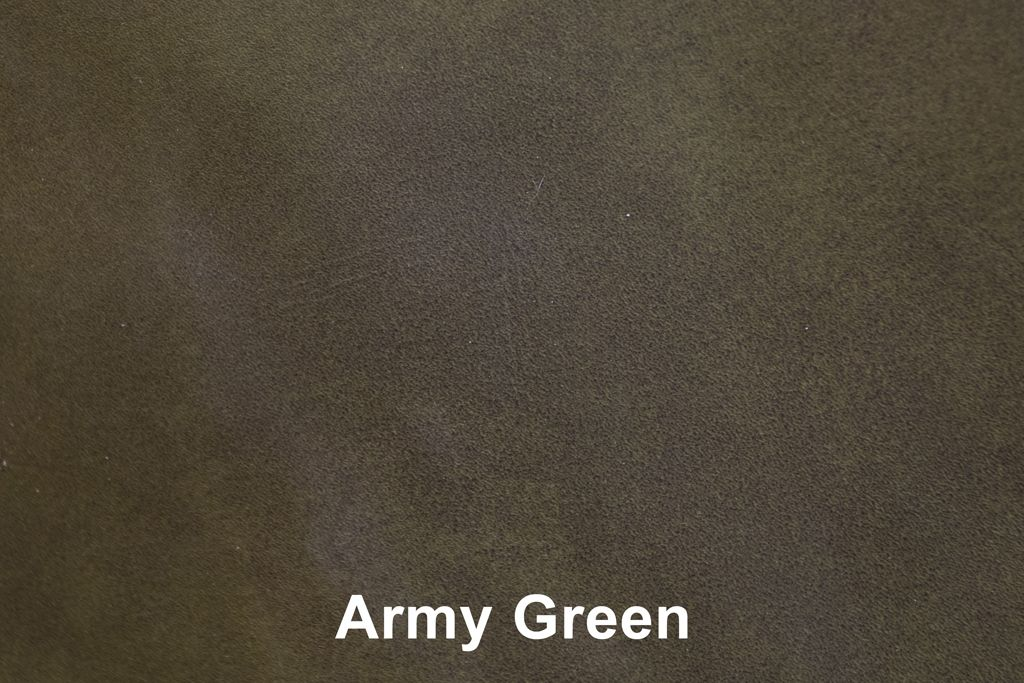 Farbmuster Industrial Leather Army Green